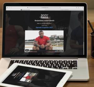 nouveau site internet bodytrainerz janvier 2021